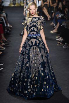 Elie Saab Fall 2016 Couture Fashion Show - Marjon Jonkman