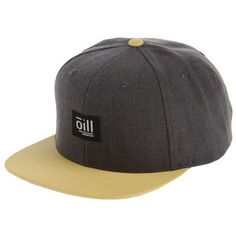 Ōill Hat ($28) ❤ liked on Polyvore featuring accessories, hats, grey, grey baseball cap, baseball hats, gray hat, logo baseball caps and baseball cap
