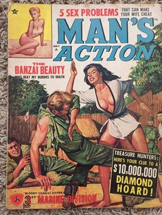 """Banzai Beauty - Great Cover Art. Good Condition - some wear as expected for its age, 3"""" separation of cover page (see pics). 