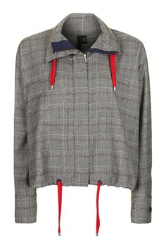 Cropped Anorak by Boutique - Jackets & Coats - Clothing - Topshop