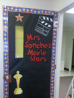 Hollywood theme classroom Movie Theater Theme, Movie Themes, Theatre, Classroom Themes, Classroom Organization, Movie Themed Rooms, School Wide Themes, Popcorn Theme, Hollywood Theme Classroom
