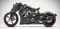Tecnoneo: La impresionante motocicleta Combat Fighter P51G2 es una máquina que hace honor a su nombre