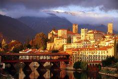 Bassano del Grappa, Vicenza province in the region of Veneto (Italy)