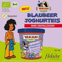 """""""YAKARI Bio Blaubeer Joghurteis von Helador * GLUTENFREI"""""""