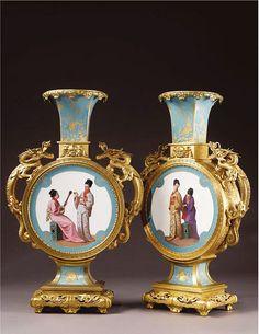 http://www.etsy.com/shop/UncommonRecycables Ormolu mounted presentation vase, circa 1870