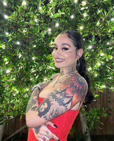 Kehlani Tattoo, Kehlani Singer, Kehlani Parrish, Mode Rihanna, Goth Hair, Face Tattoos, Woman Crush, Celebrity Crush, Tumblr Boys