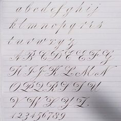 Image result for calligraphy alphabet exemplar