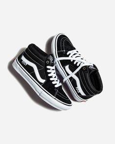 Vans Grosso Mid Vans Slip On, Rubber Shoes, Bmx, Skateboard, The Help, Sneakers, Skateboarding, Tennis, Slippers