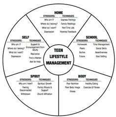 Teen wheel of life    #pyschology