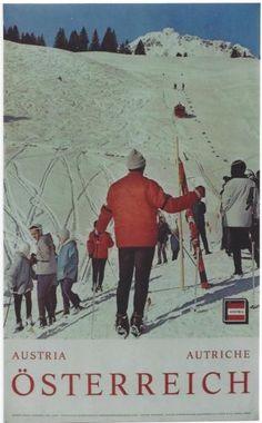 Original-vintage-poster-SKIING-IN-AUSTRIA-BRAND-VORARLBERG
