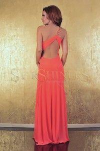 Tinute pentru nunta dama Backless, Coral, Formal Dresses, Fashion, Dresses For Formal, Moda, Formal Gowns, Fashion Styles, Formal Dress