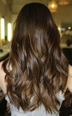 Dark Chocolate Brown Hair Color With Lowlights JAMiefyrl