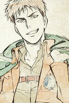 Jean | Shingeki no Kyojin |  Attack on titan | SNK