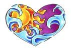 I definitely like the idea of the sun and ocean in a heart, but I want something a little more realistic and detailed :)