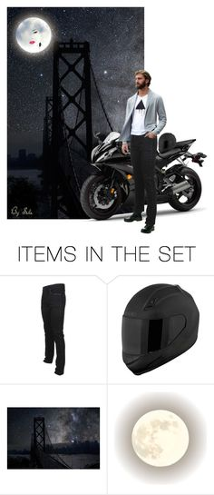 """Men Doll Sets - Amused by the Moon"" by selene-cinzia ❤ liked on Polyvore featuring art"