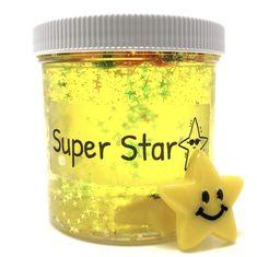 Super Star Clear Slime – snoopslimes