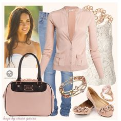 """""""Go Pink"""" by norwich-ave on Polyvore"""