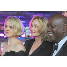 """353 Synes godt om, 3 kommentarer – Jessica Phyllis Lange  (@jessicalange.personal) på Instagram: """" Jessica with her daughter Shura and Ricardo Pitts-Wiley during the Pell Awards 2017 at the Water…"""""""