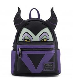 Loungefly x Maleficent Faux Leather Mini Backpack - Backpacks - Disney -  Brands 90e8ba5aef5da