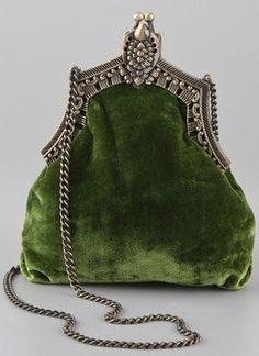 purse <3 moss green