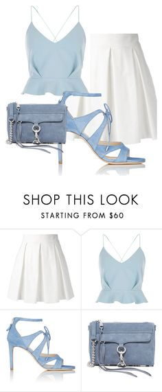 """""""stylish hot look"""" by harika-vemula ❤ liked on Polyvore featuring Boutique Moschino, River Island, Chloe Gosselin, Rebecca Minkoff, hot, stylish, Elegant and CasualChic"""