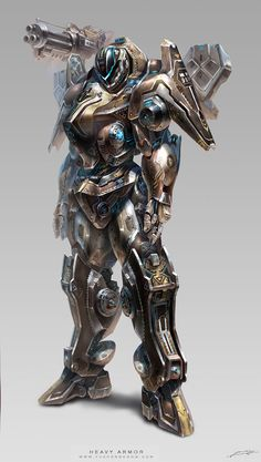 Project D-Heavy Armor M by *yuchenghong on deviantART