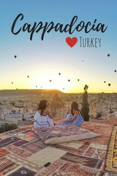 Cappadocia in Turkey is one of the most magical places on earth. There are breathtaking viewpoints, magical landscapes, strange formations, fairy chimneys and hot air balloons! #cappadocia #turkey #goreme