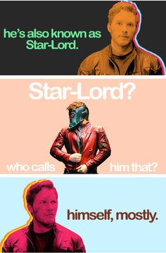 """""""Himself, mostly."""" (""""Guardians of the Galaxy"""")  -  #guardiansofthegalaxy #marvelcinematicuniverse #kurttasche"""