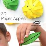 3D+Paper+Apples craft for Apple unit my father's world