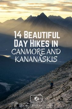 A list of the best hikes around Canmore and Kananaskis Country with detailed descriptions, length, elevation changes and much more. An informative post to help hikers choose their next best hike in the Canadian Rockies Montezuma, Monteverde, Adventure Holiday, Adventure Travel, Adventure Time, Adventure Symbol, Alberta Canada, Ottawa, Quebec