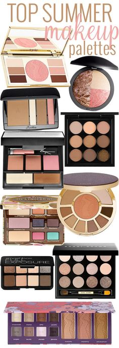 Top 10 Summer Makeup Palettes 2015!  #beautifulmakeupsearch #bblogger