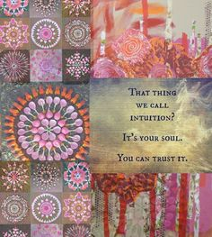 Collage, happinez, quote