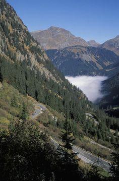 Silvretta Hochalpenstrasse Vorarlberg