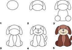 animals draw zoo drawings drawing easy animal step fabartdiy farm