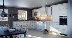 Verona | JKE Design - want these doors in my kitchen, in grey or light grey.