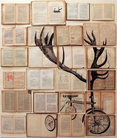 lienzo de libros