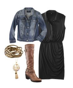 Black/Denim