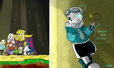 QuantumTale: Redemption- PACI-TWIST Route by perfectshadow06.deviantart.com on @DeviantArt
