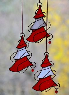 Stained glass Christmas tree decor, holiday suncatcher, handmade glass ornaments, Christmas gift, Tiffany glass window decor – Furniture and Door Decoration Stained Glass Ornaments, Stained Glass Christmas, Stained Glass Suncatchers, Stained Glass Crafts, Stained Glass Designs, Stained Glass Panels, Fused Glass Art, Stained Glass Patterns, Glass Christmas Ornaments