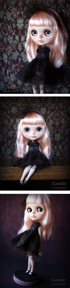 Reserved for Suzi custom Blythe doll  ooak  by AlmondDoll on Etsy