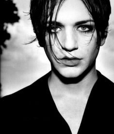 brian molko of placebo: i don't know if i want to be him, or have him for dinner.