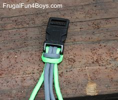 How to Make Parachute Cord (Paracord) Bracelets - Frugal Fun For Boys