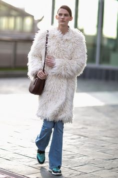 Pin for Later: Catch Up on the Best Model Street Style Moments at MFW Milan Fashion Week New York Fashion, Fashion News, Fashion Models, Fashion Beauty, Milan Fashion, Street Fashion, Model Street Style, Best Model, Fashion Gallery