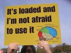 Sadly, many people ARE afraid to use it.
