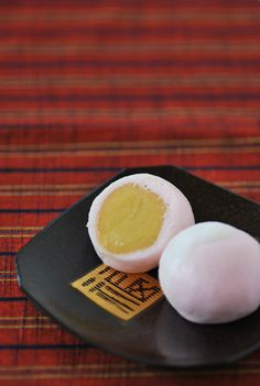 """Japanese sweets """"wagashi""""  for tea ceremony."""