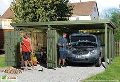 Carport en Bois PLUS XL (5x6)