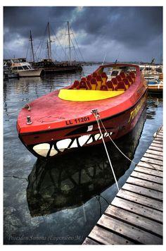 Moored Boat, Paphos, Cyprus