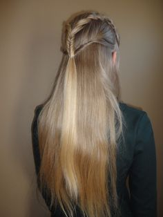 Braiding for Freedom - January 24th (Tauriel hair) Go to campaign117.blogspot.com
