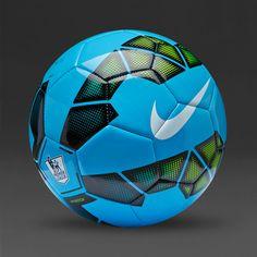 Nike Pitch EPL Ball - Blue Black Volt - Nike  a22f262f998e1