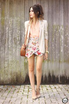 floral romantic outfit